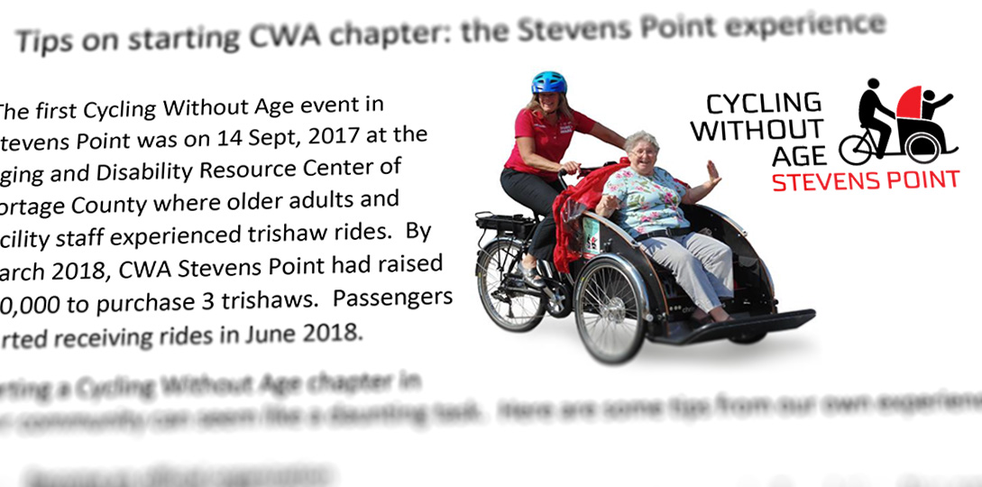 Starting a CWA chapter